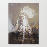 Native Life Canvas Print