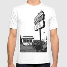 Best Burgers Drive-In Mens Fitted Tee SMALL White