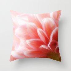 An Angel's Blush Throw Pillow