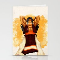 Apache Chief Stationery Cards