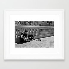 Enything in Vegas Framed Art Print