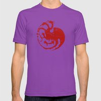 House Targaryen Mens Fitted Tee Ultraviolet SMALL