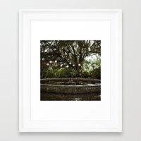 Garden Wonder Framed Art Print