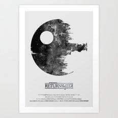 Star Wars - Return of the Jedi Art Print