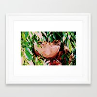 let's talk about me Framed Art Print