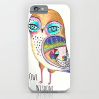 iPhone & iPod Case featuring Owl Wisdom by Atelier Susana Tavares