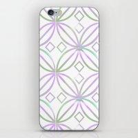Floral Pattern - JUSTART… iPhone & iPod Skin