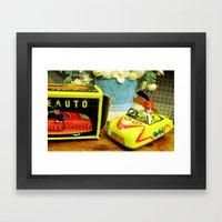 Trip down memory lane... Framed Art Print