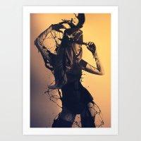 Beauty Reverie Art Print