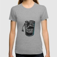 Beanz pen Drawing (colour) Womens Fitted Tee Athletic Grey SMALL