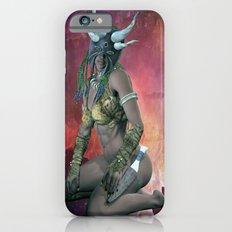 Tribal  mask girl iPhone 6s Slim Case