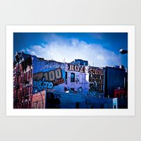 Writing On The Walls Art Print