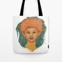 The brave love Tote Bag