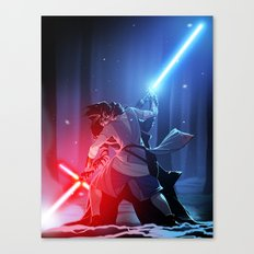 the force is calling to you... Canvas Print