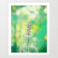 Little Flowers Art Print