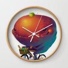 Bike Monster 2 Wall Clock