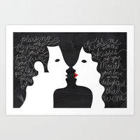 Your Love Is More Deligh… Art Print