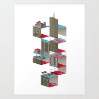 C-H-I-C-A-G-O Art Print