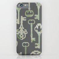 Skeleton Key Pattern In … iPhone 6 Slim Case