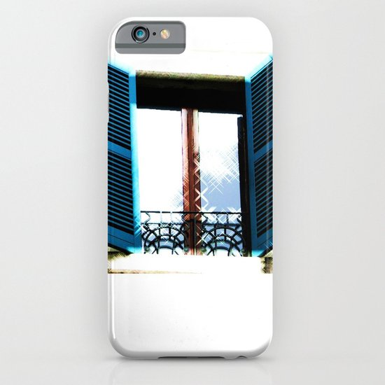 Window to the Present iPhone & iPod Case
