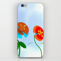 WHAT THE BEES SEE iPhone & iPod Skin