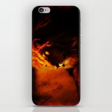 African Lion iPhone & iPod Skin