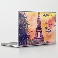 paris Laptop & iPad Skins featuring Paris by Anna Shell