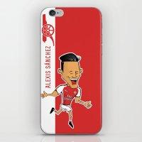 Alexis Sanchez, Arsenal … iPhone & iPod Skin