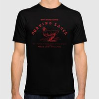 Dorking Sauce Mens Fitted Tee Black SMALL