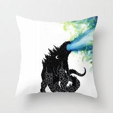 Urban Monster Throw Pillow