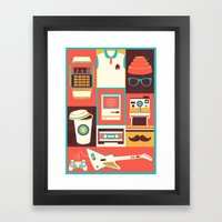 All Things Framed Art Print