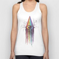 Look Into The Future Unisex Tank Top