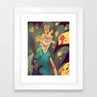Finn the Human Framed Art Print