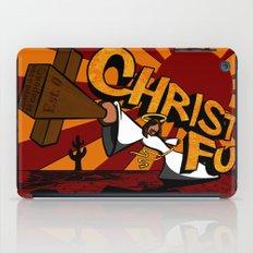 Christ Fu - Love Thy Unconscious Enemy iPad Case