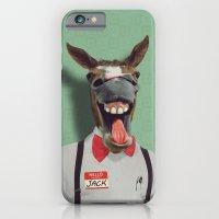 iPhone & iPod Case featuring JACKASS by John Medbury (LAZY J Studios)