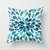 Petal Burst #2 Throw Pillow
