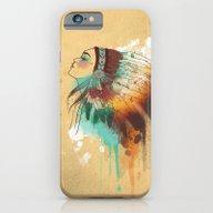 Native American Girl iPhone 6 Slim Case