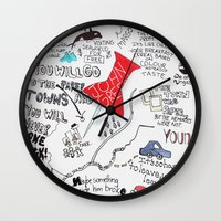 Paper towns, John Green Wall Clock