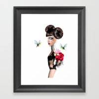 Eileen sailing Framed Art Print