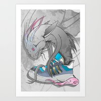 Sneaker Monster Art Print