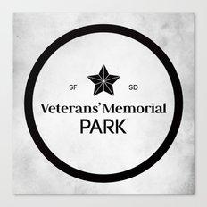 Veterans' Memorial Park Canvas Print
