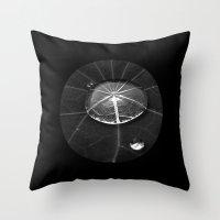 Water Drop XIV Throw Pillow