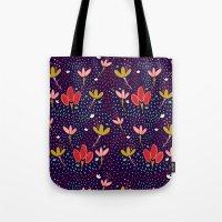 Vintage Ditsy Floral Tote Bag