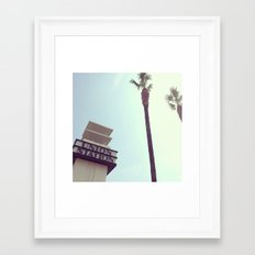 Union Station - Los Angeles Framed Art Print