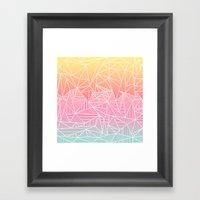 Beeniks Rays Framed Art Print