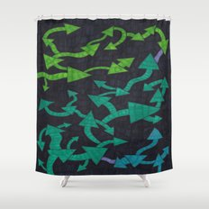 Round-About Shower Curtain