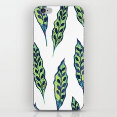 Painted Leaves iPhone & iPod Skin