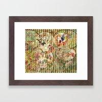 Jeune Fille De Joie Usin… Framed Art Print