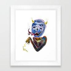 demoniooOOoOOoOooo #1 Framed Art Print