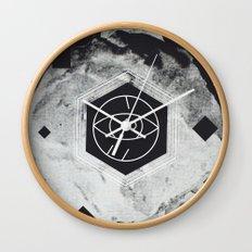 Moon Eye Wall Clock